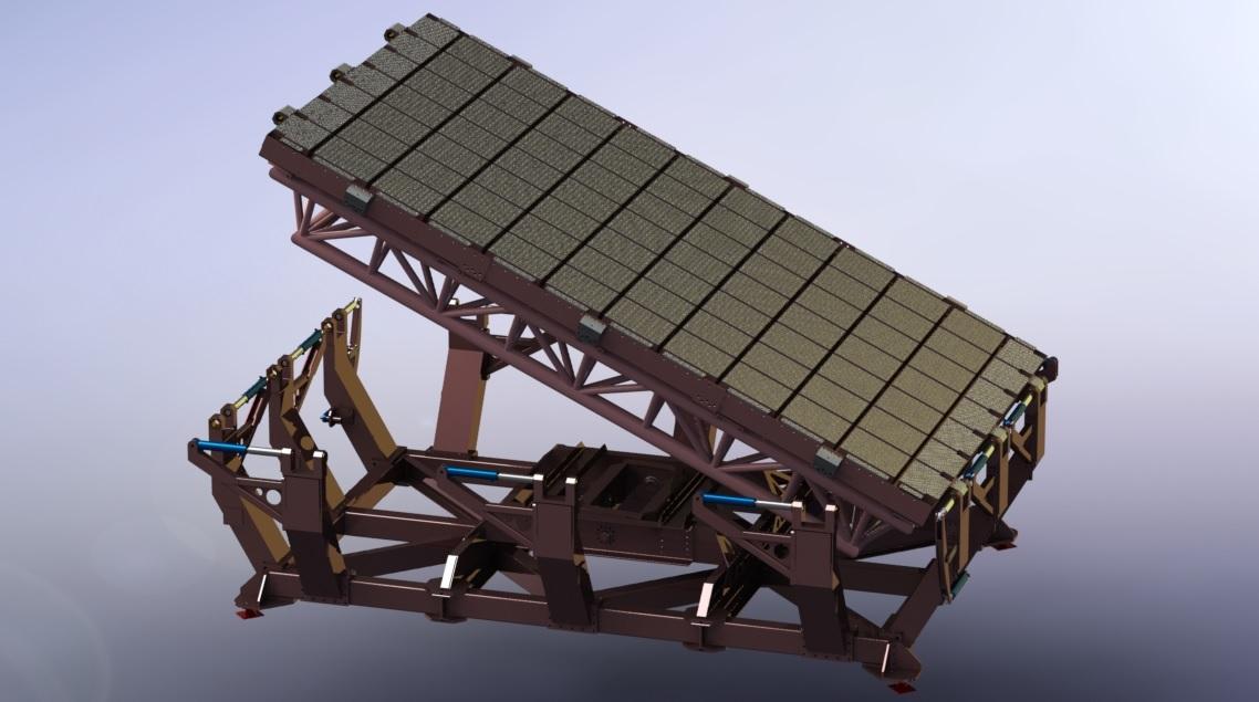 Platform for stability tests.